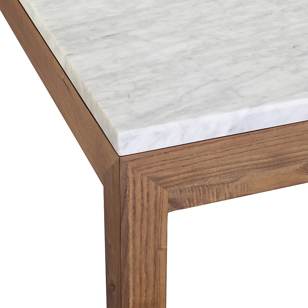 Marble Top Elm Base 60x36 Dining Table Stone Top Dining Table