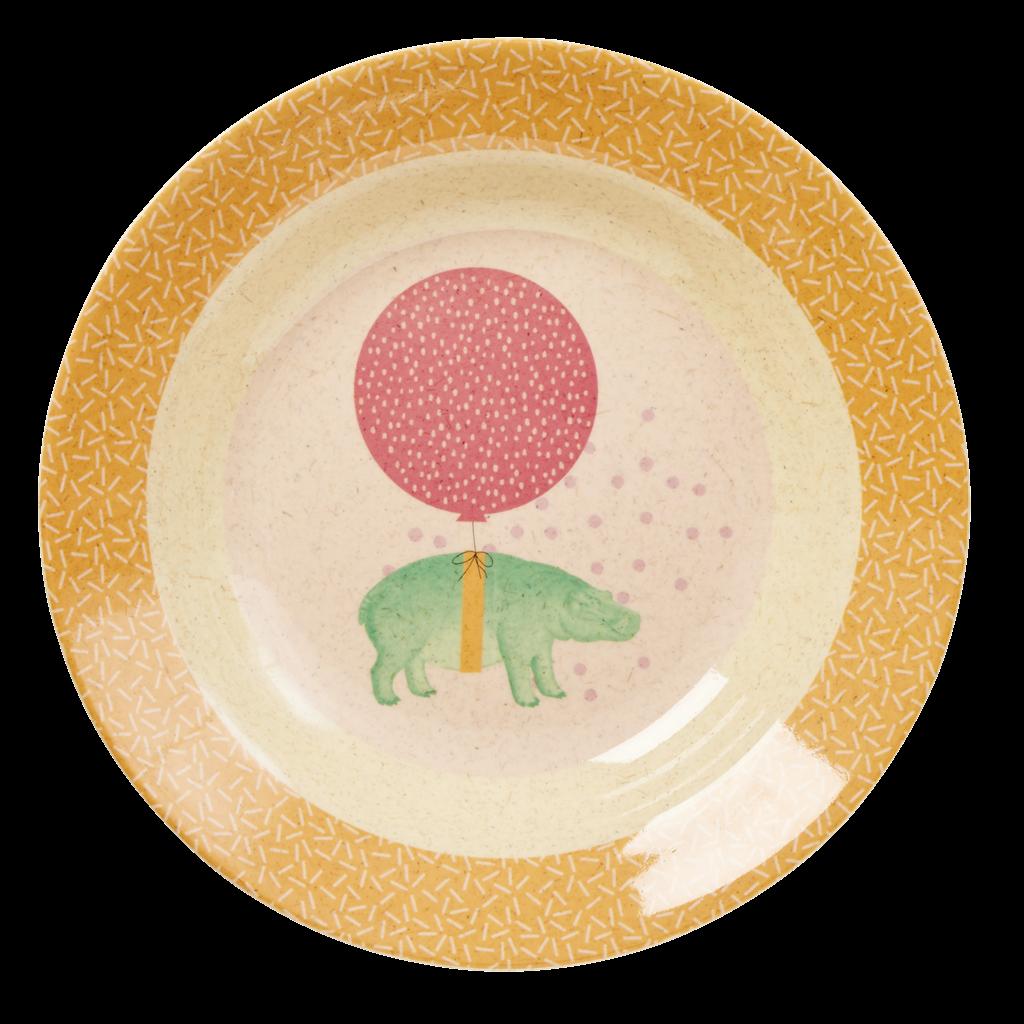 Kids Melamine Bamboo Bowl Girl Colours Animal Prints Rice Dk Kids Melamine Kids Tableware Melamine Bowls