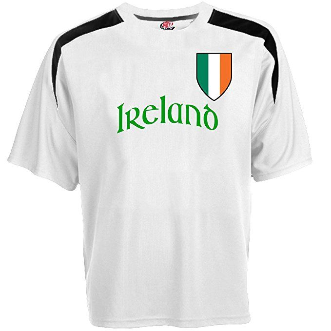 6c332fd8b Custom Ireland Soccer Jersey Personalized with Your Names and Numbers   Clothing