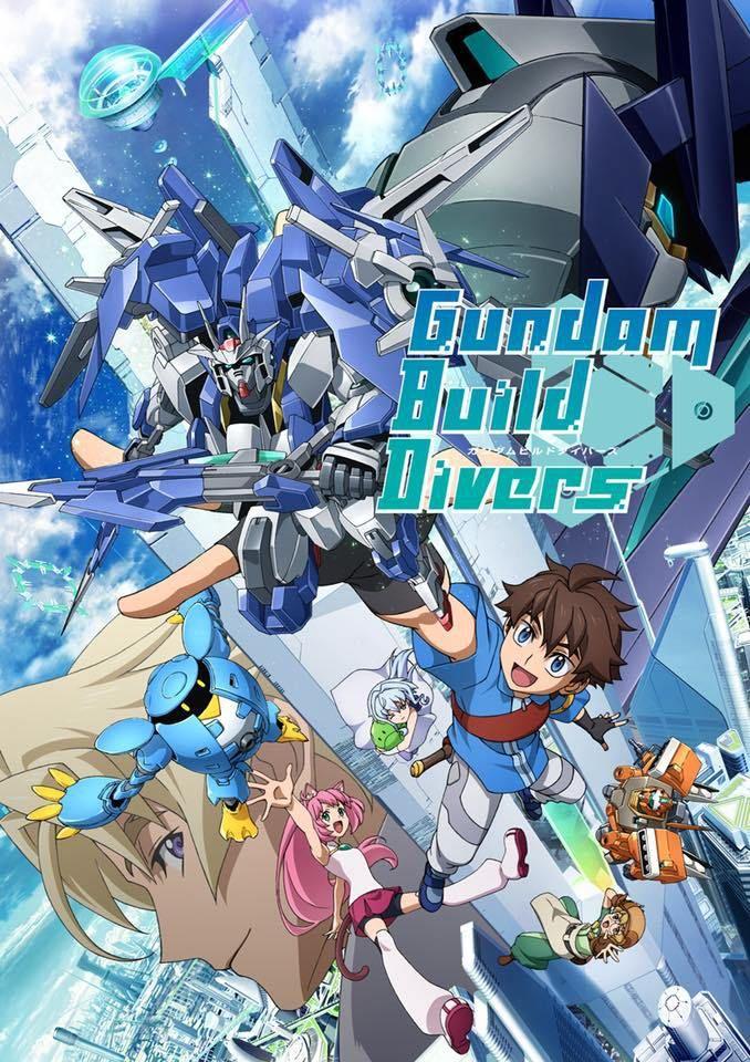 Gundam Build Divers เร็วๆ นี้