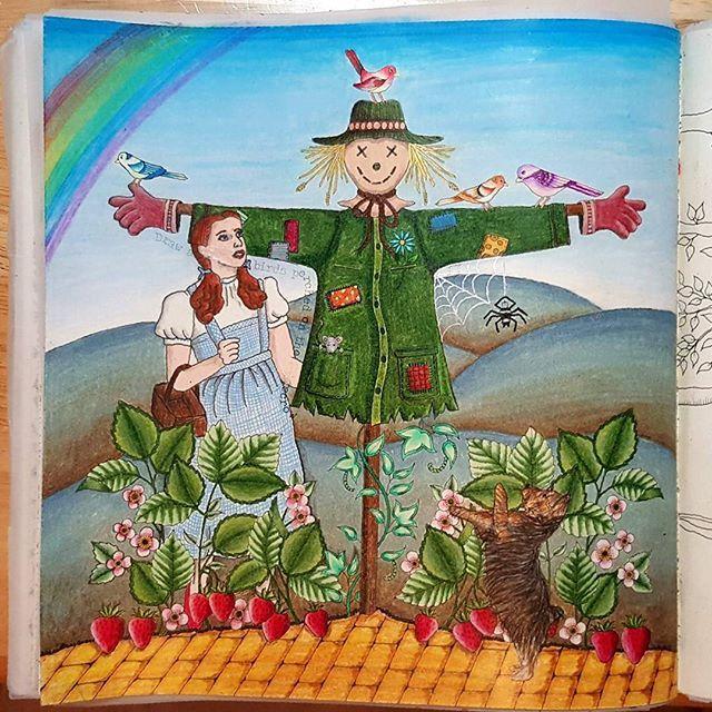 #johannabasford #secretgarden #prismacolor #thewizardofoz…