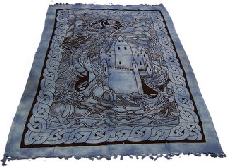 These wall hangings are a blend of ancient motifs with modern concepts.They are perfect to add colour to your bed, ceiling & walls, ideal to take to the beach or a picnic.They make for great shop displays, if you have any empty wall space (even high up) you can turn it into a sales point. #Wholesale #Ancientwisdom #Ancient_Wisdom #Wall_Hangings #Throws