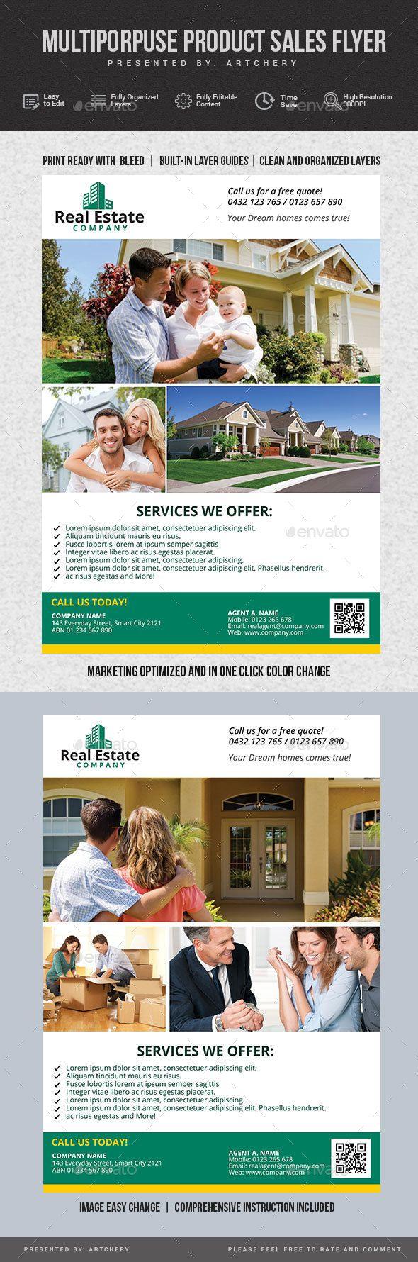 Real Estate Flyer Real estate flyers, Flyer, Real estate