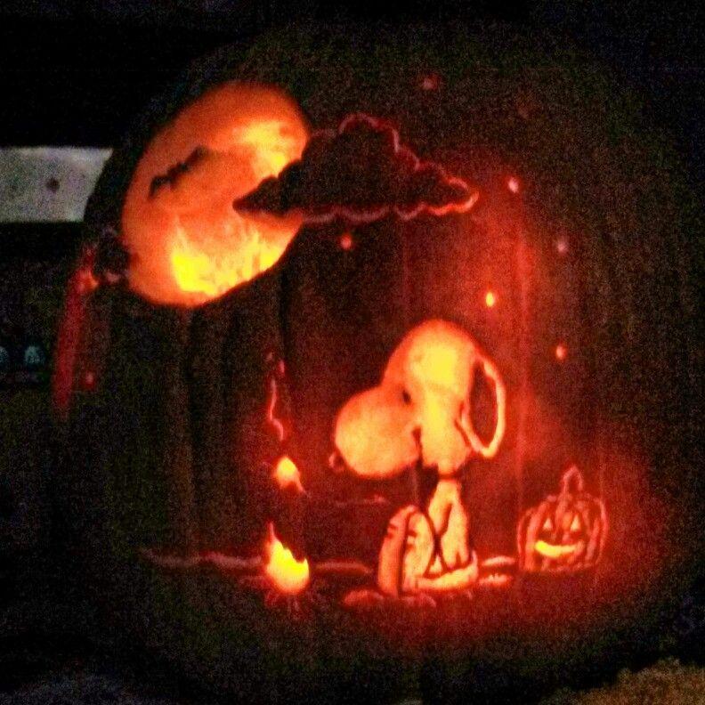 Snoopy pumpkin cool cakes halloween happy