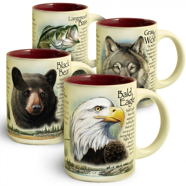 Black Bear Stoneware Coffee Mug Mugs Stoneware American Expedition