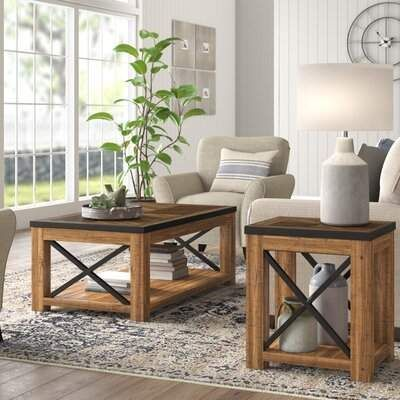 Love This Laurel Foundry Modern Farmhouse Coffee Table Set