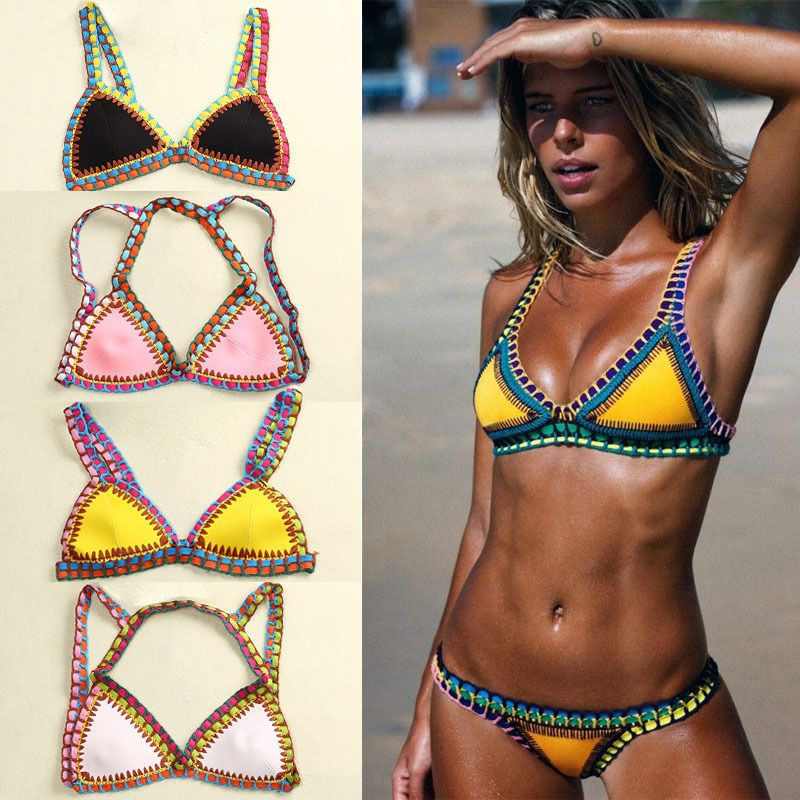 122fdb1bba83 2018 Sexy Crochini trend swimwear hot curves in skimpy crocheted Demi's  bikinis #Unbranded #Bikini