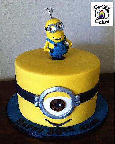 Marvelous Minion Cakes By Coxies Cakes Perth Cake Decorator Cartoon Funny Birthday Cards Online Fluifree Goldxyz