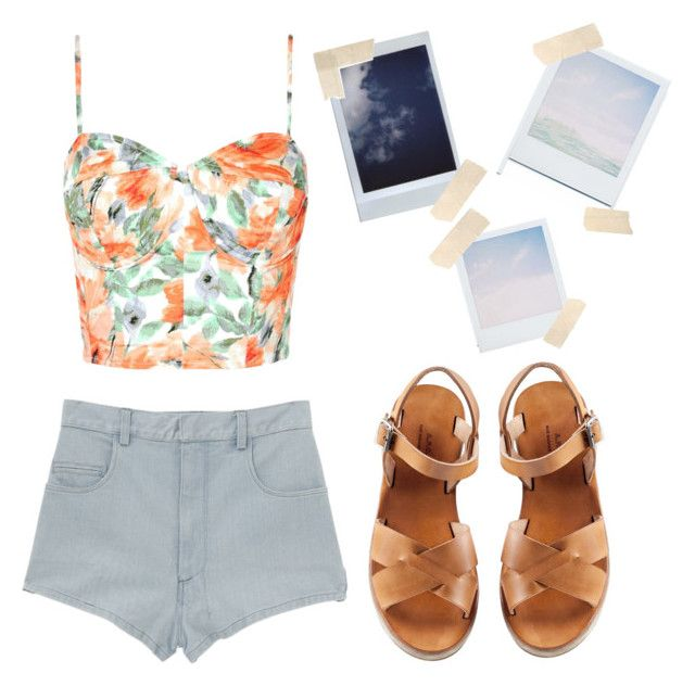 """""""Untitled #79"""" by annfloyd ❤ liked on Polyvore featuring A.P.C. and Holga"""