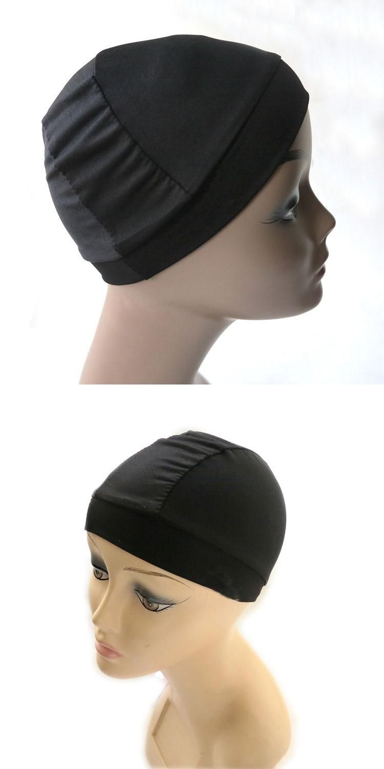 Wholesale Dome Cap Elastic Stocking Hairnets Wigs Liner Caps Weave