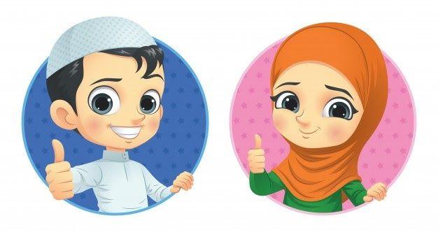 Fantastis 30 Gambar Muslimah Kartun Sahabat- Pada ...