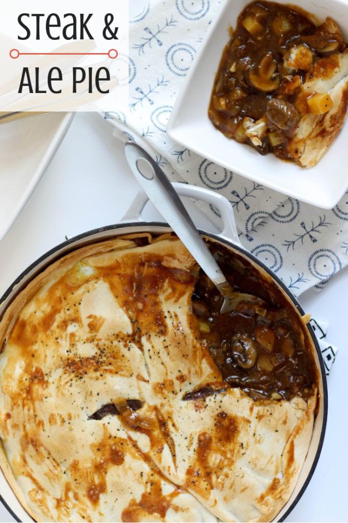 Steak & Ale Pie | Recipe | Steak ale pie, Ale pie, Steak, ale