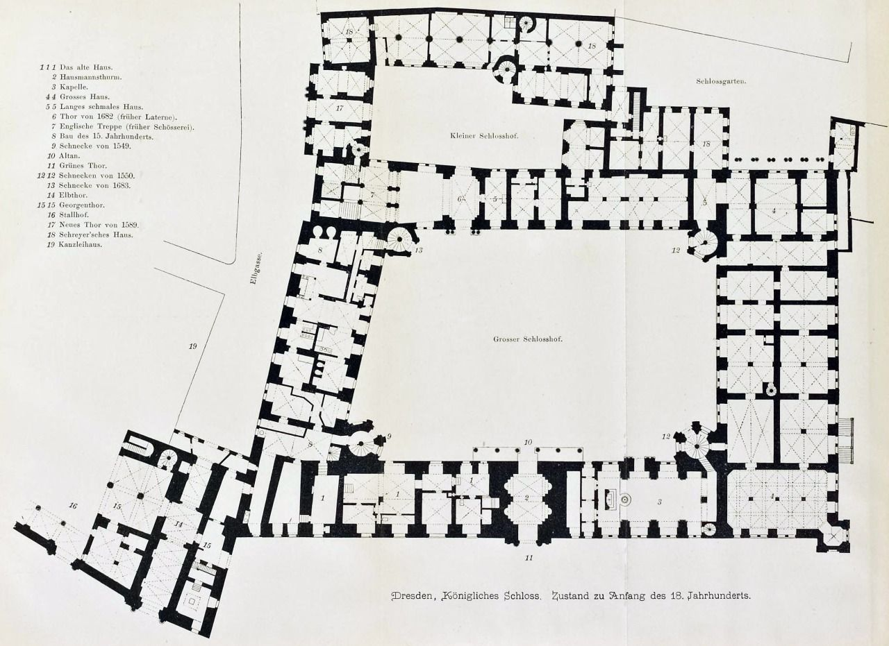 Floor Plan Of The Royal Castle Dresden Castle Floor Plan How To Plan Dresden Castle