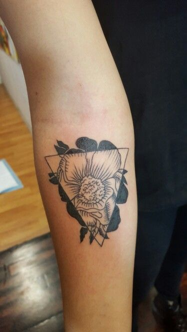 Flower my customer wanted tattooed
