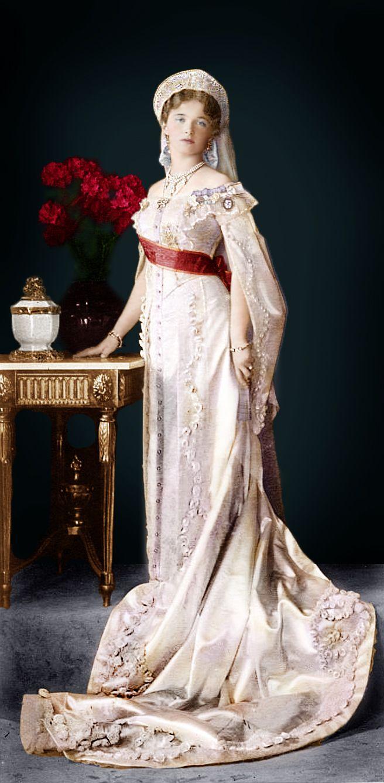 Свадебное фото александры федоровны романовой