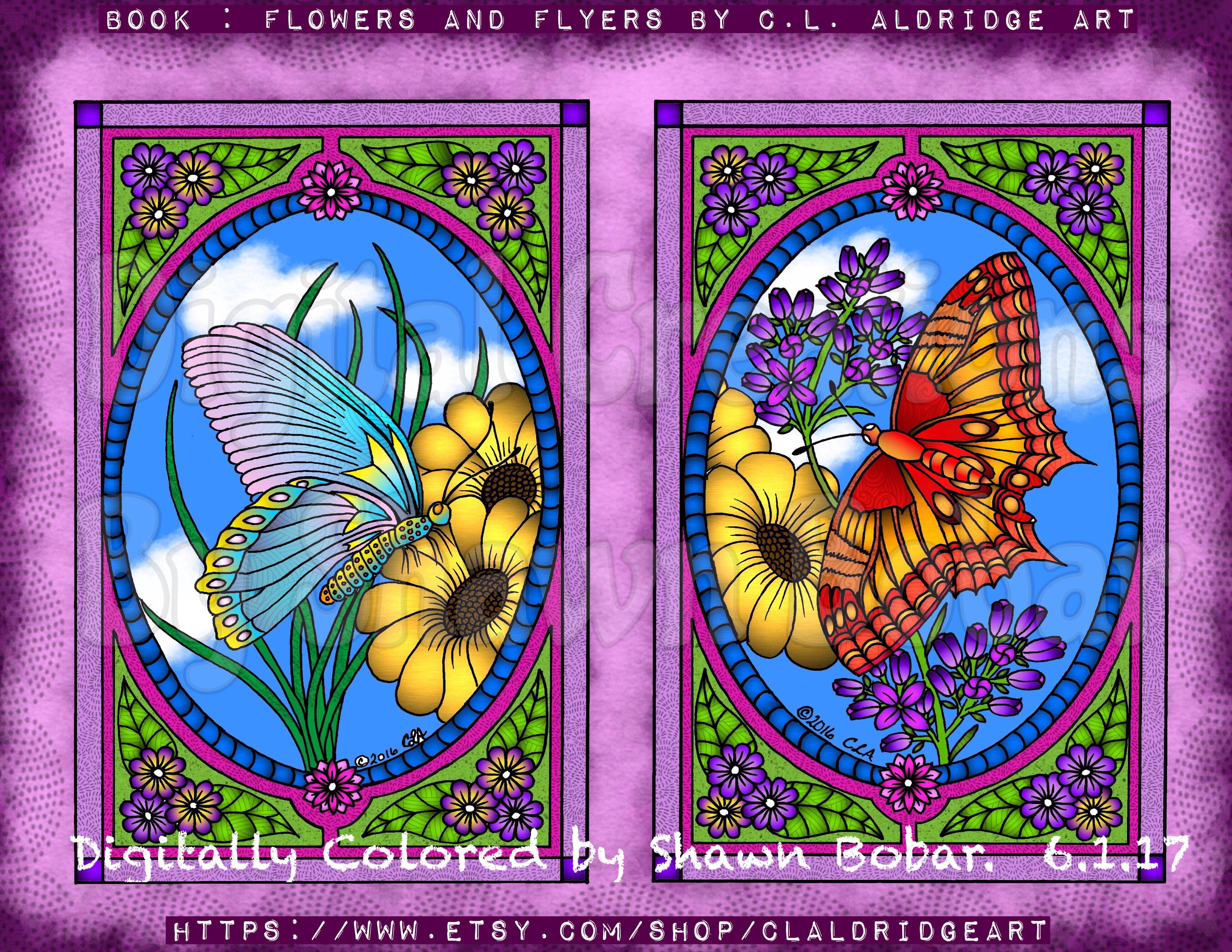 Aldridge Art Digital Creations By Shawn Bobar Digitally Colored Using Pigment IPad Pro Apple Pen