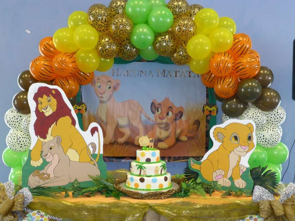 Superior Baby Lion King Baby Shower Party Ideas