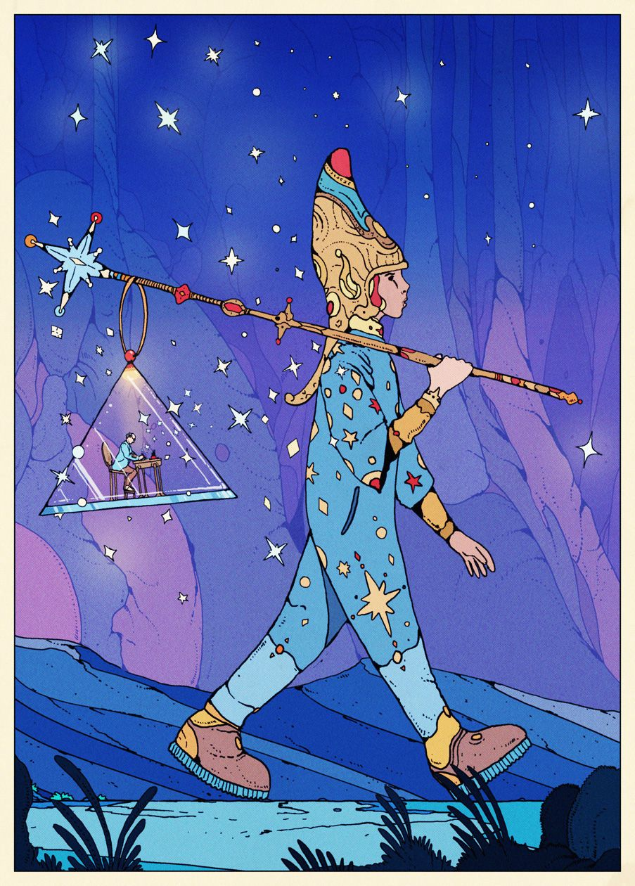 A Little Tribute Image To The Amazing One And Only Jean Giraud Moebius Who Left Us This Day A Year Ago Moebius Art Jean Giraud Art