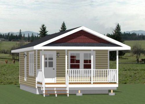 16x30 tiny house 16x30h3c 480 sq ft excellent for 16x30 house plans