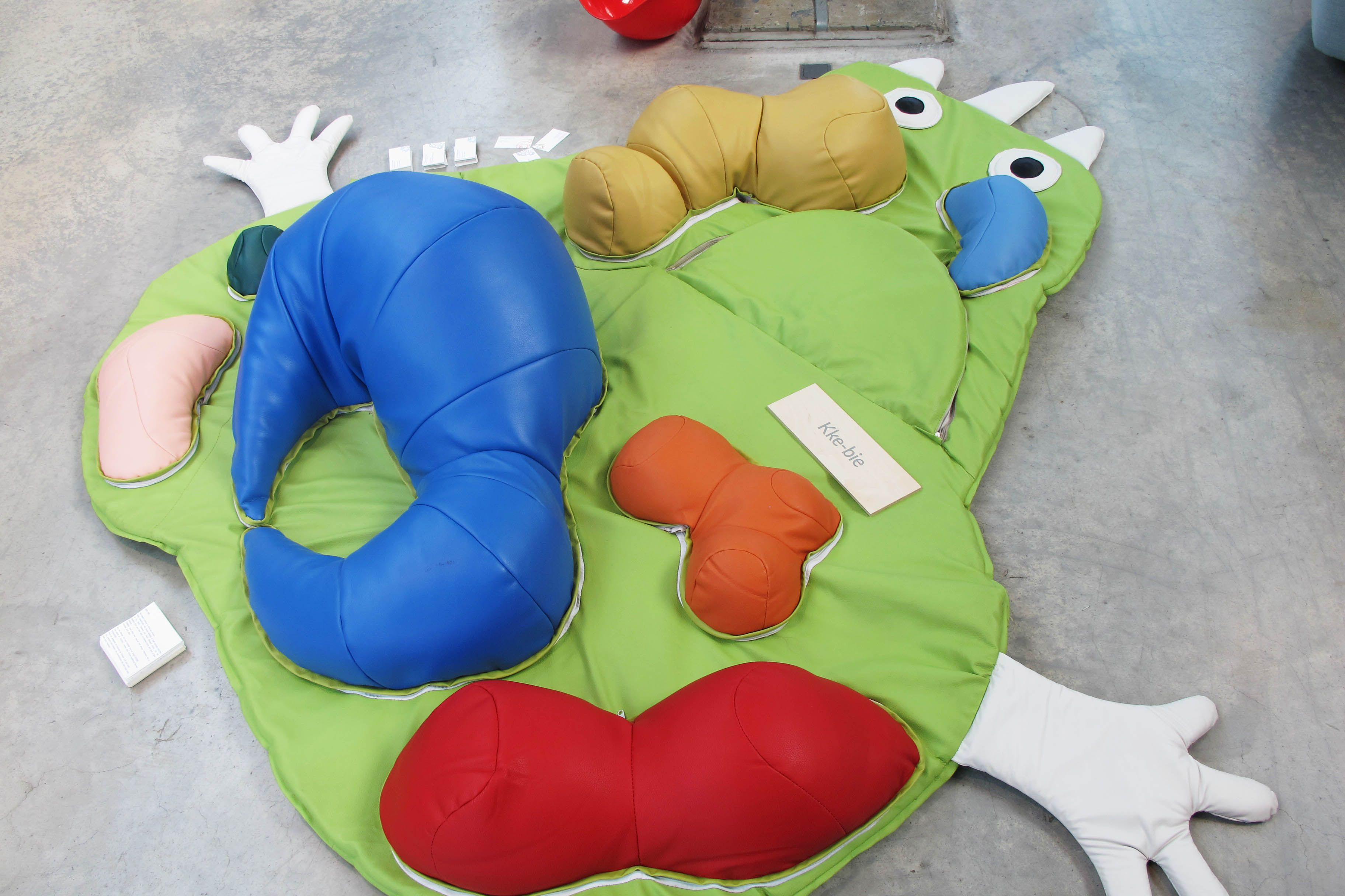 kke-bie is a soft and cozy playing mat especially designed for toddlers and kids .