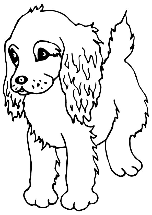 Click Share This Story On Facebook Dog Coloring Page Puppy