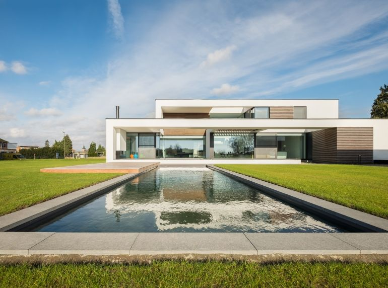 Hedendaagse witte villa architecture pinterest future and