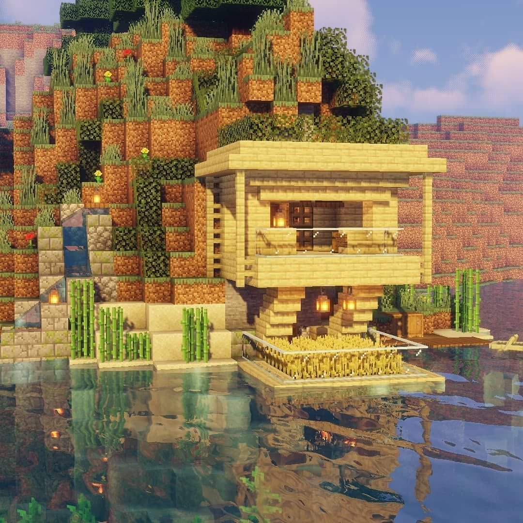 Elite Game Spot Auf Instagram Kleine Klippen Bauen Ich Hoffe Ihr Habt Einen Grossartigen Super B Minecraft Projects Minecraft Houses Minecraft Architecture