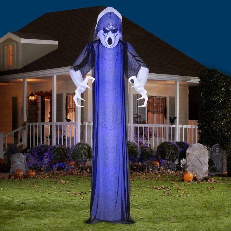 Halloween Outdoor Decoration Inflatable Airblown Ghost Light - inflatable halloween decoration