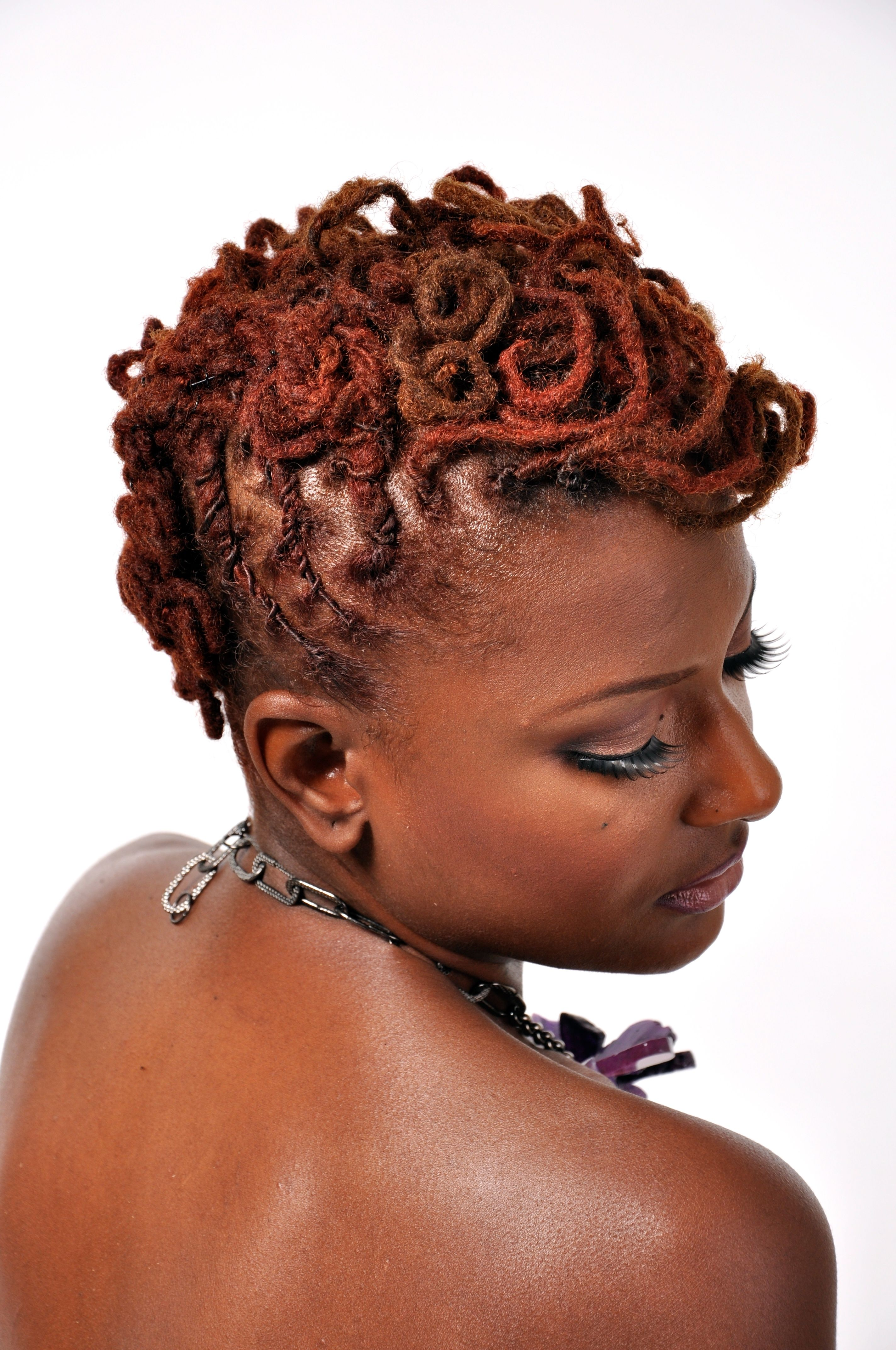 loc styles for short hair photo , 2