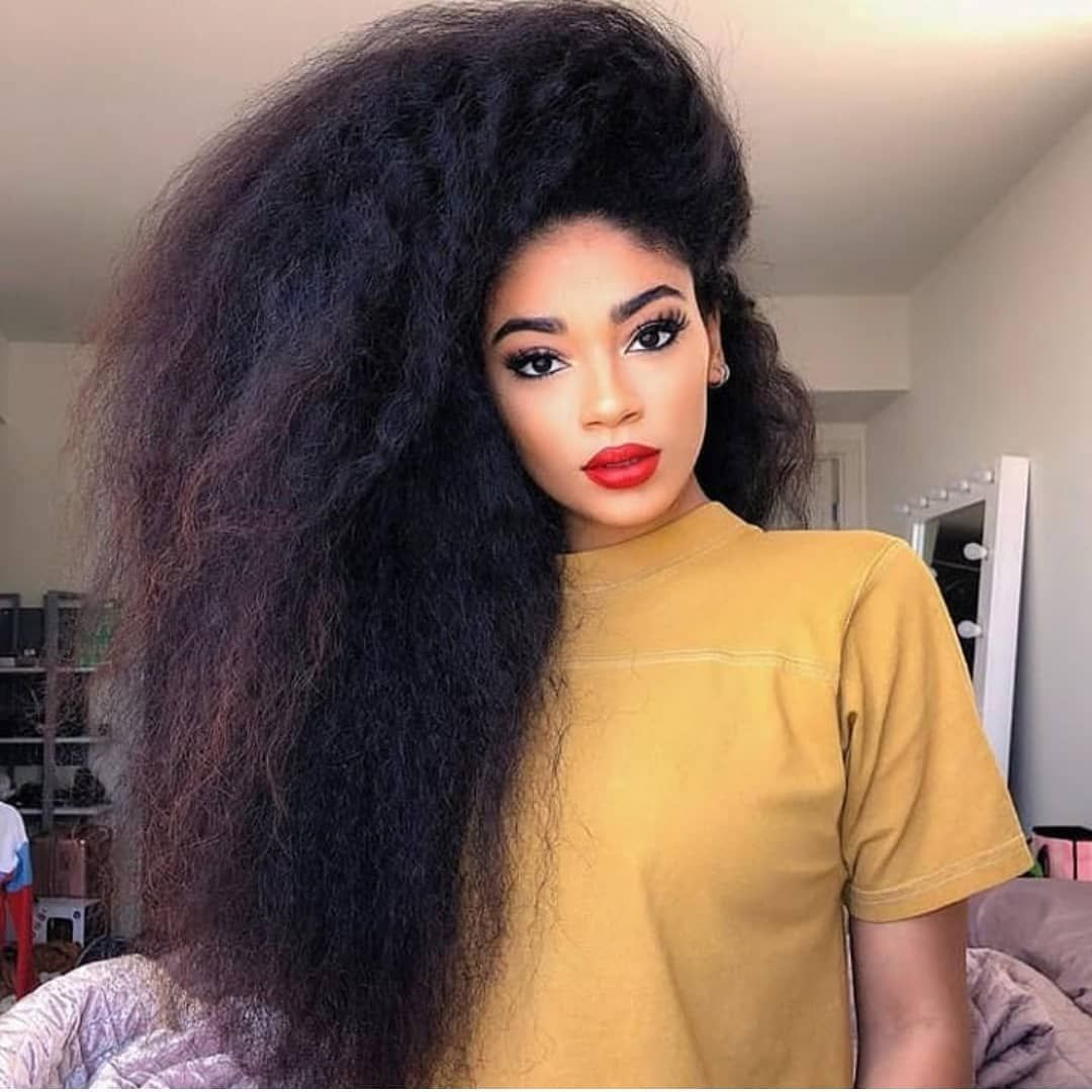 Latest Trend Hairstyles For 2020 2021 Hairstylefun Com Long Natural Curly Hair Hair Styles Natural Hair Styles