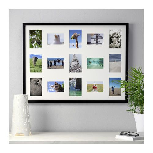 RIBBA Frame for 15 pictures - IKEA | Other crafty ideas ...