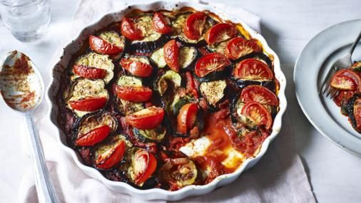 Posh roasted vegetables recipe quiche dish ratatouille and quiches bbc food recipes posh roasted vegetables forumfinder Gallery