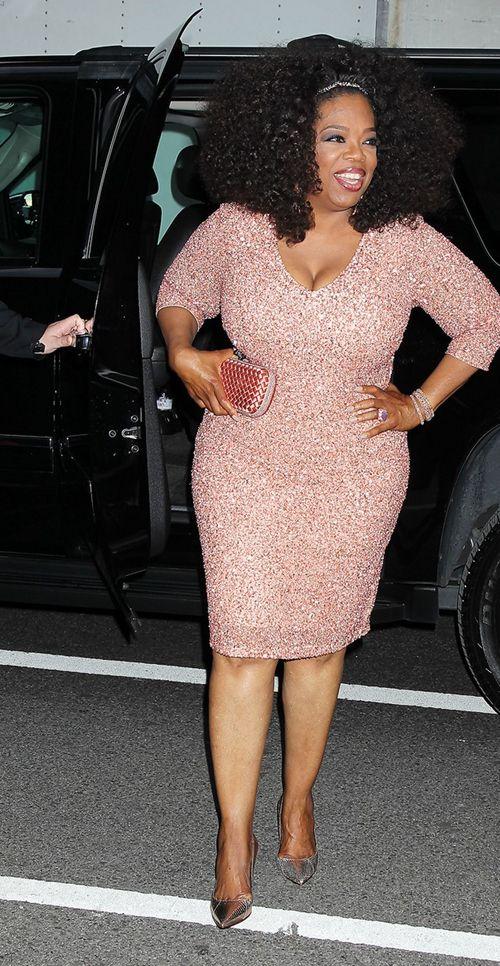 Plus Size: Estilo de Oprah Winfrey | Dijes, Artistas y Vestiditos