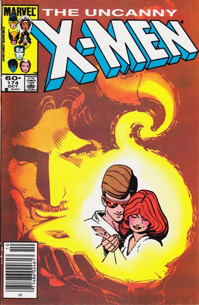 Cover for The Uncanny X-Men (Marvel, 1981 series) #174 [Direct Edition]