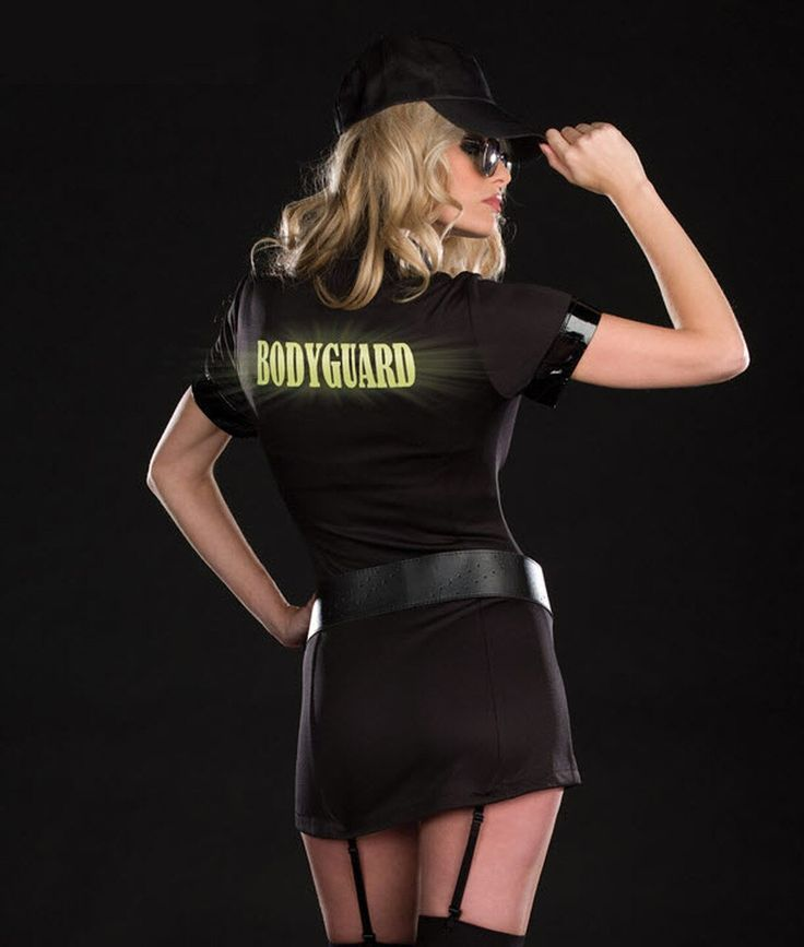 Damen Bodyguard Kostüm | Women, Pinup costume