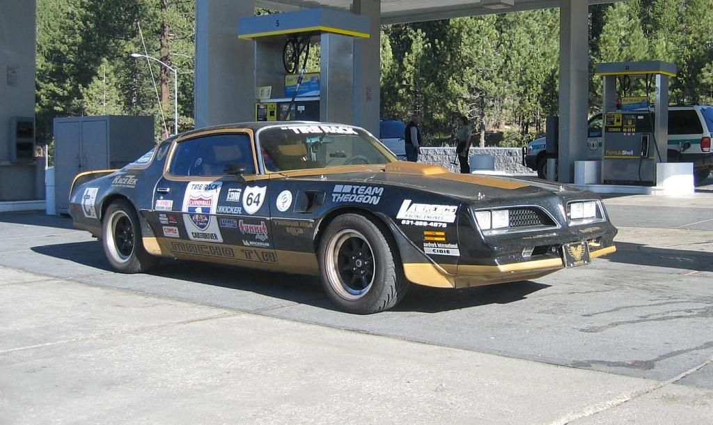1976(?) Black Trans Am -- Road Racing Firebirds. | Chassis ...
