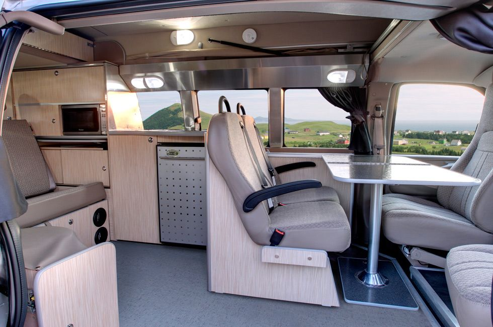 GM LSX - Savana / Express with pop top | Motorhome ...