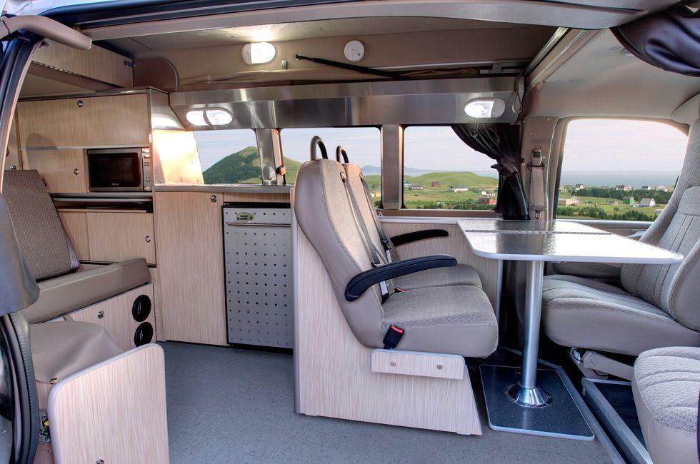 Gm Lsx Savana Express With Pop Top Camper Van