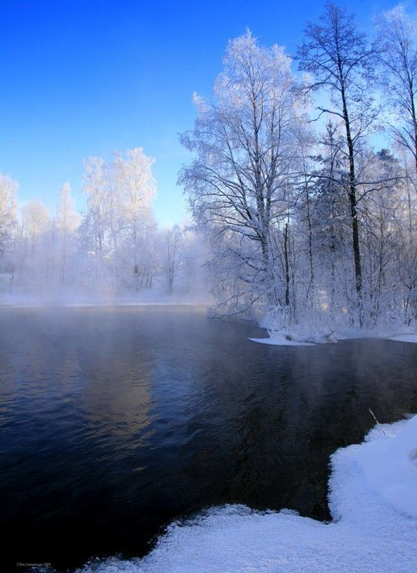 Beautiful Winter Scenes (15 Photos)