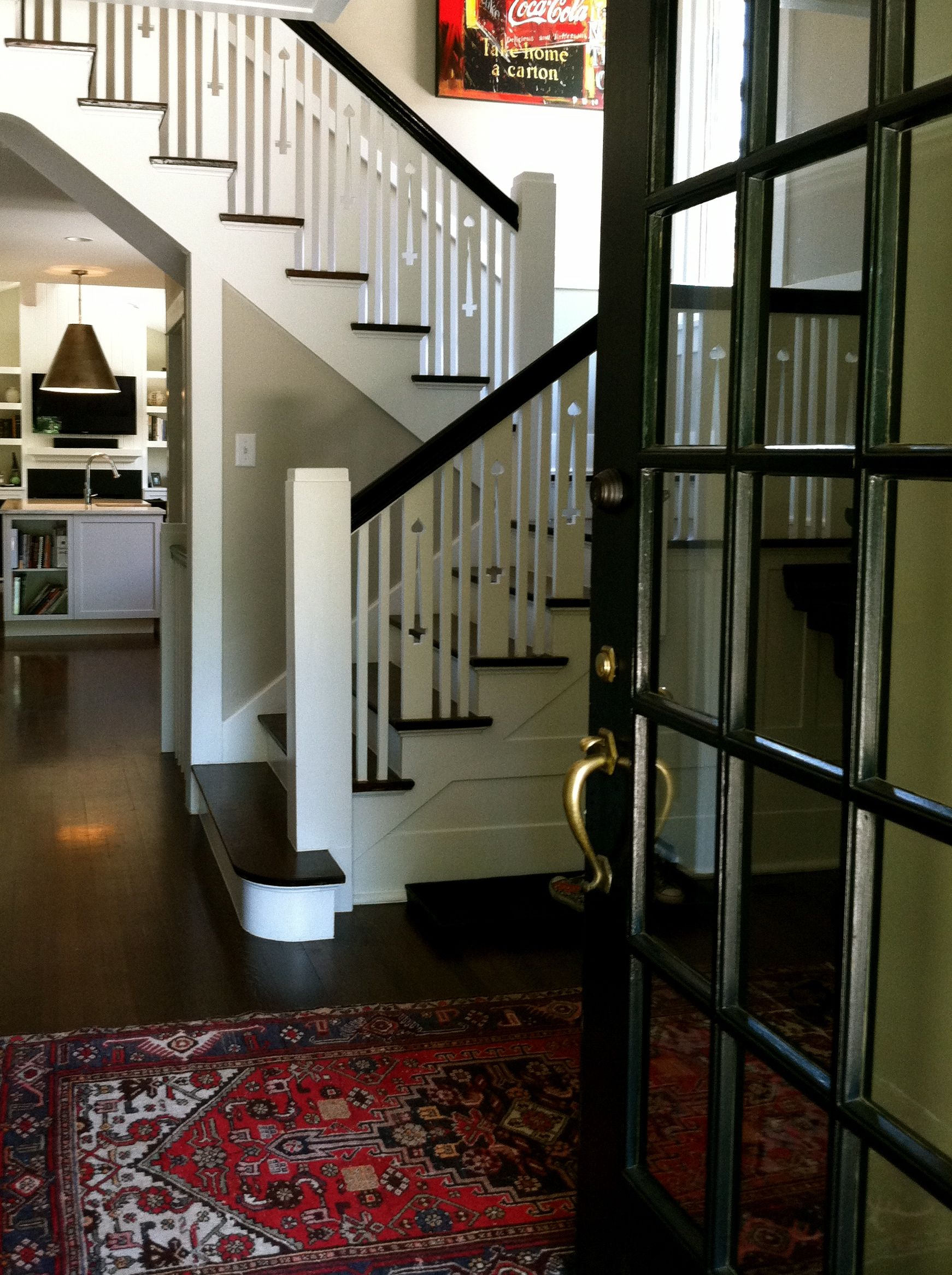 White Railings For Stairs