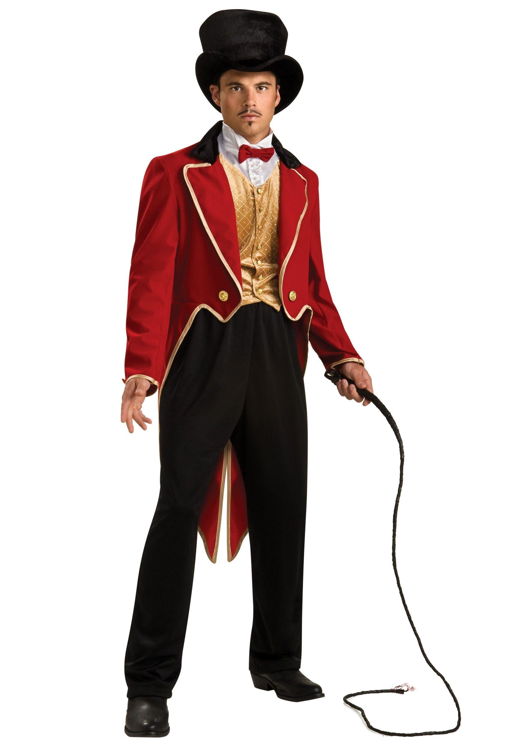 835d5312888 Mens Ringmaster Costume