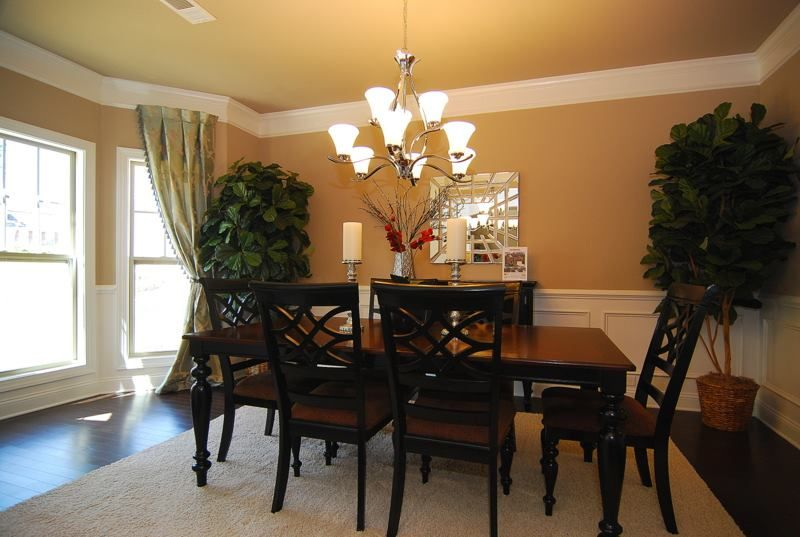 Model Home Dining Rooms ballentine model home dining room | manors at white knoll