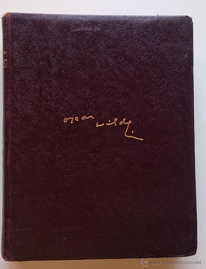 Obras completas de Oscar Wilde, colección Obras eternas