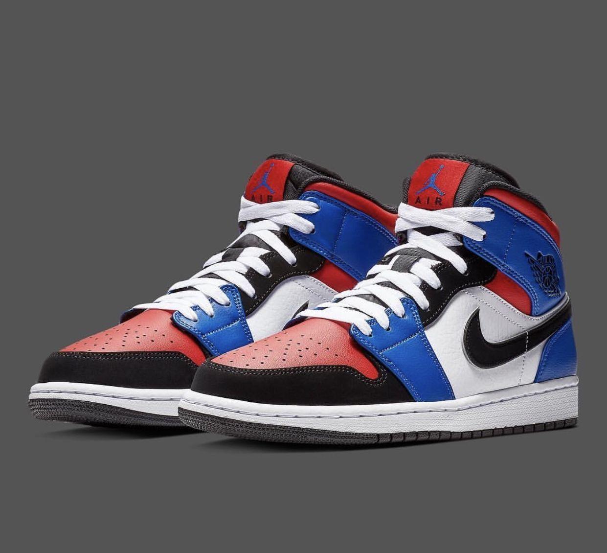 super popular 12c25 b88b9 Jordan 1 Mid   Kicks (Sneakers) in 2019   Air jordans, Air jordan ...