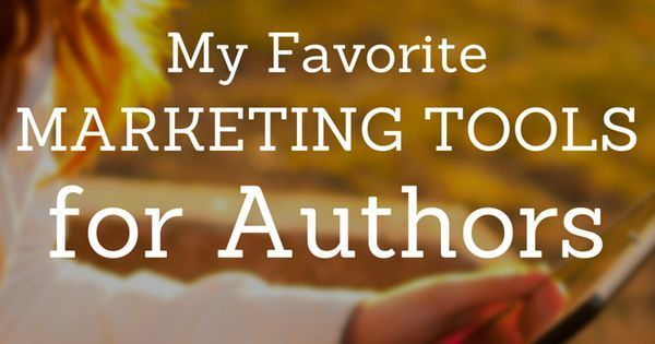 Here is a list of marketing tools for authors!!