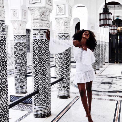 spiritedpursuit:   Black girl magic coming to you... - Lea