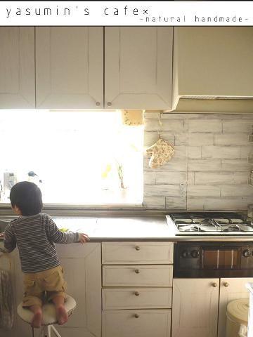 キッチン改造計画* ほぼ終了です! : yasumin's cafe*