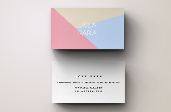 Graphic Business Card Template By Blank Studio On Creative Market