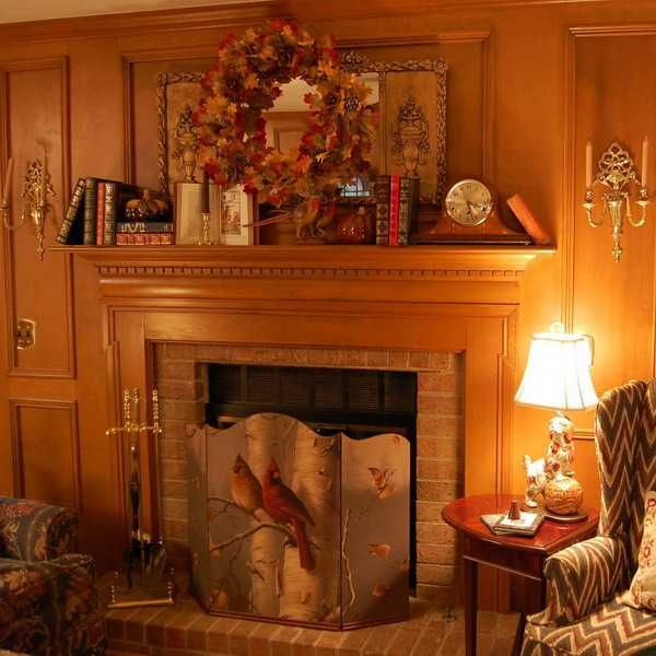 Cozy Thanksgiving Decorating Ideas, Living Room Makeover ...