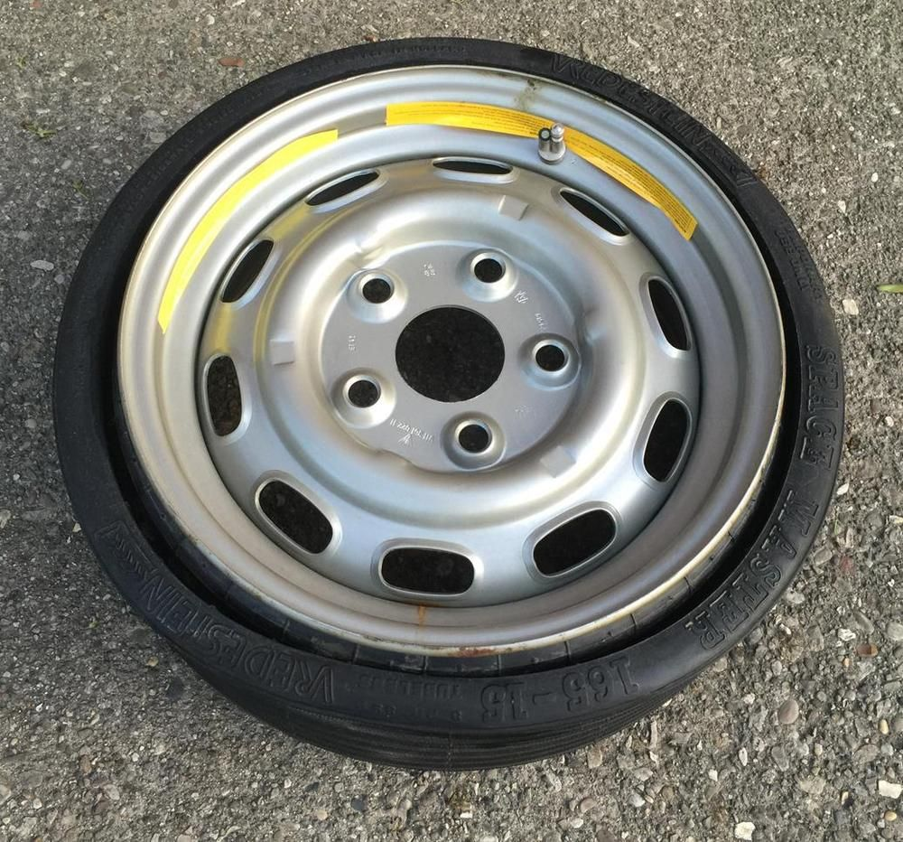 1987 Porsche 944 OEM Collapsible Space Saver Spare Tire